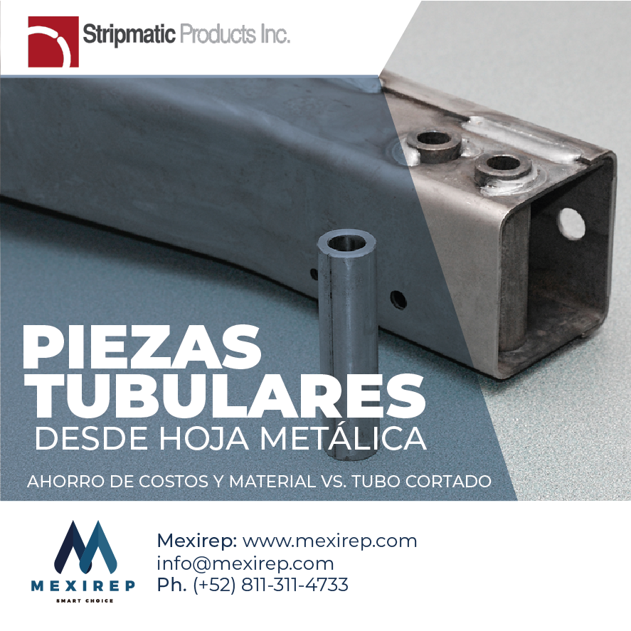 #SalesRepresentativeMexico #Manufacturing #Steel #Mexico #Stamping #Coldforming #Mexirep #WrappedTubes #Tubes #Bushings #Sleeves #Chasis #Suspension #Automotive https://t.co/t5mgwiduA6