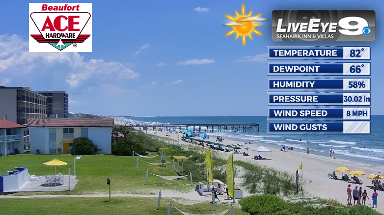 Wow-E! Now THAT is what we call a bluebird beach day in eastern #NorthCarolina ! I am #Shore I'll take a trip back down to the Crystal Coast soon, but it's always never soon enough... #Daydreaming #Carolina #Coast #Beach #Weather #Forecast #Sunshine #Waves #Sand #Shoreline #NC https://t.co/kQa3gdwsG2