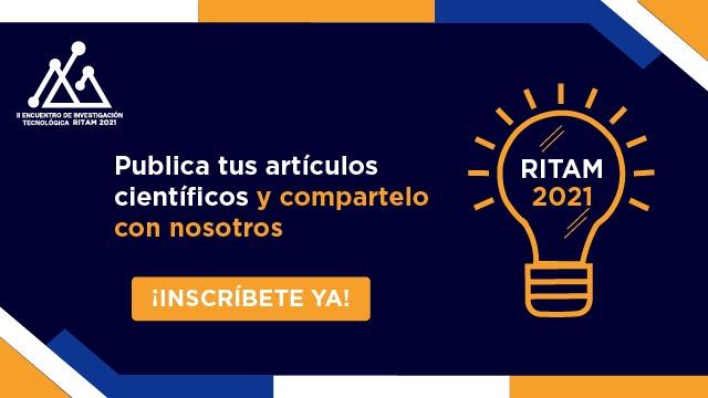 RITAM es un evento donde puedes publicar artículos científicos y hacerlos visibles para el mundo.  Más información en: https://t.co/JOjrNDkzp4 https://t.co/DYdo7Ek24Q #ritam2021 #arte #innovación  #desarrollocientífico #tecnología https://t.co/7puHAGW9NN