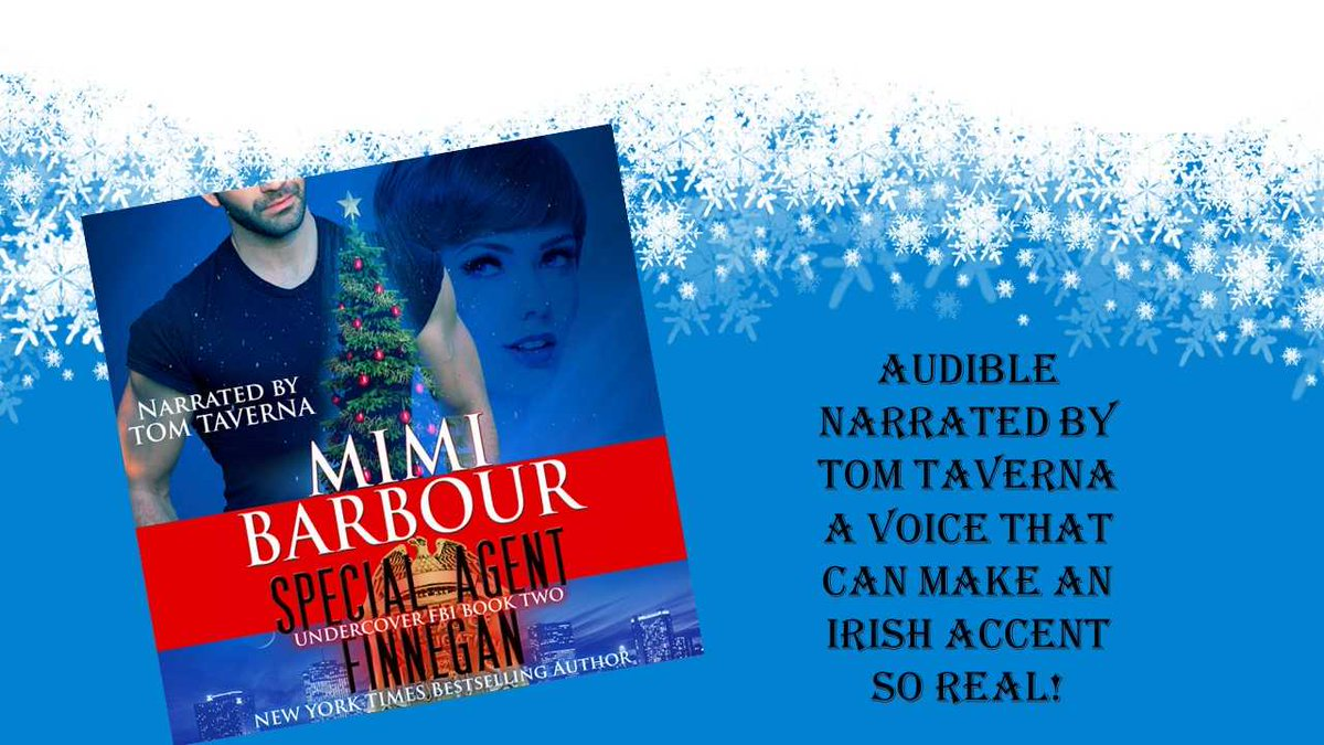 """Special Agent Finnegan #AUDIBLE """"I have read every book by Mimi. Each one is better than the last. I think this book may just become my new Fav! Love this series."""" @MimiBarbour #mgtab #mustread #Christmas #romance #suspense https://t.co/eGS2r9KE4Z https://t.co/It9jXIBHia"""