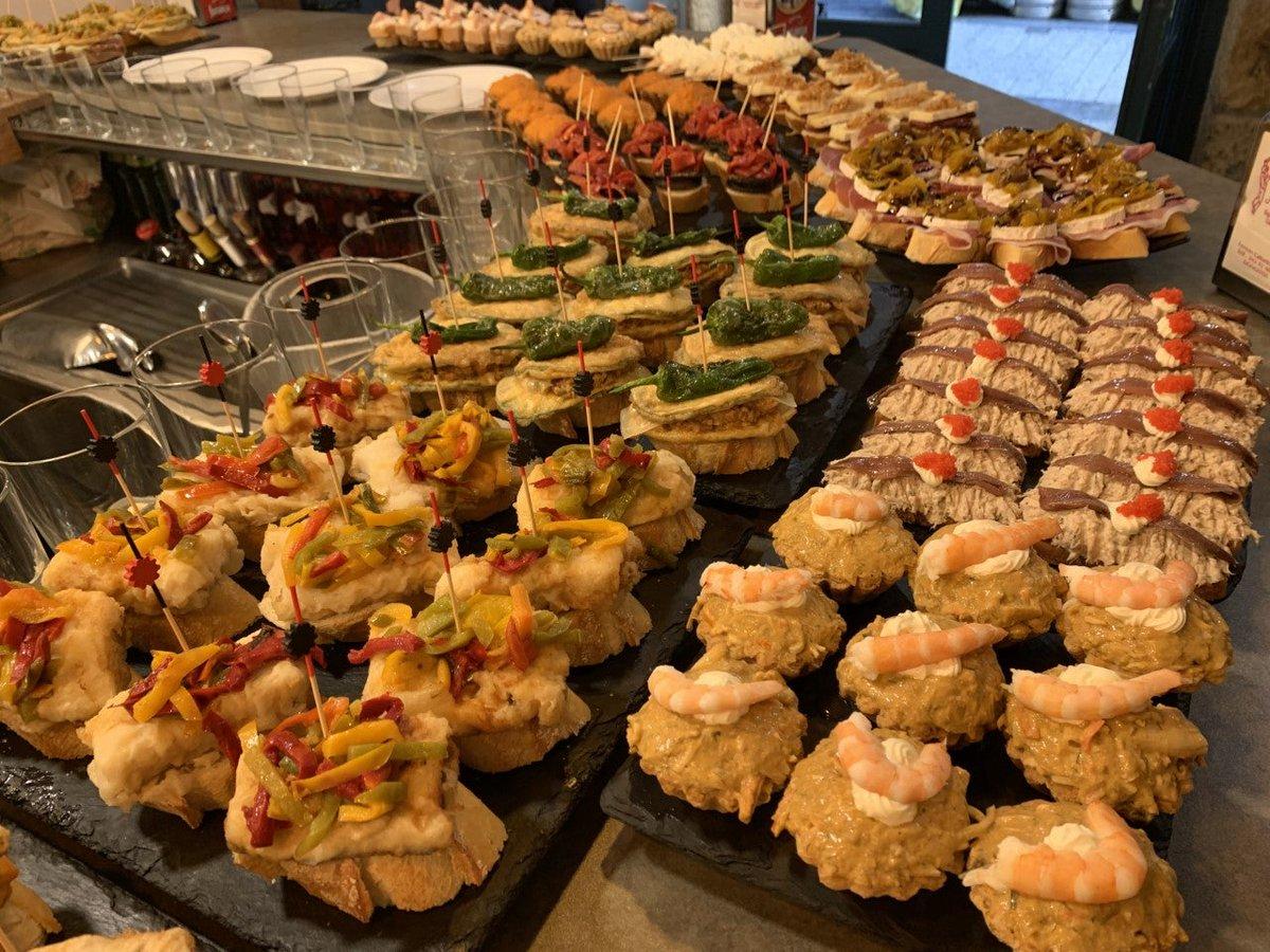 Pintxos    #Food #FoodPorn #FoodPorn   https://t.co/FtpBOWzE0u https://t.co/yoYpC7oiA5