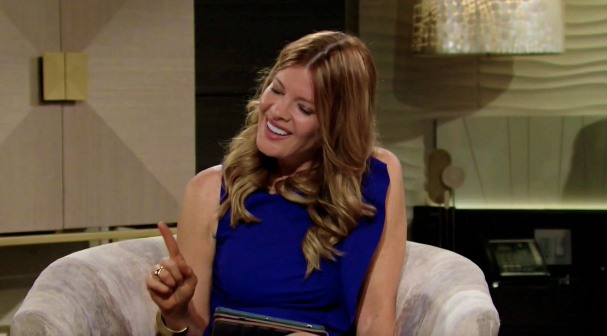 Phyllis: I know women like that, I really do. Kyle's mom, Diane. She used Kyle as a wedge between me and Jack years ago and I may or may not have done the same thing.  Phyllis 😂 #YR https://t.co/2A9GyYJUn9