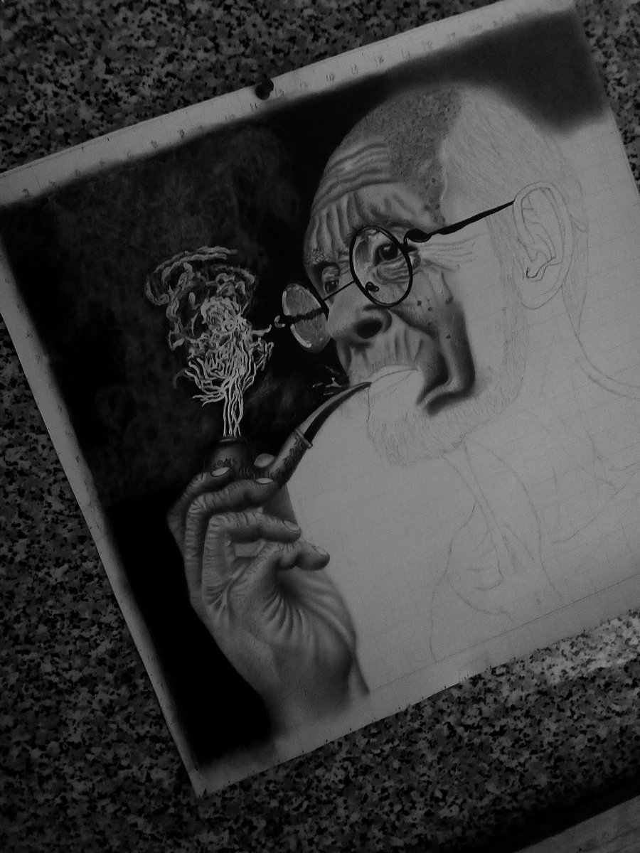Stage 5 in progress ✏️🔥 #Art #art #ArtistOnTwitter #artwork #artist #MicashArtz #ArtOfTheDay #ArtofLegends #realism #drawing @gongosoja https://t.co/UcWRa2jyno