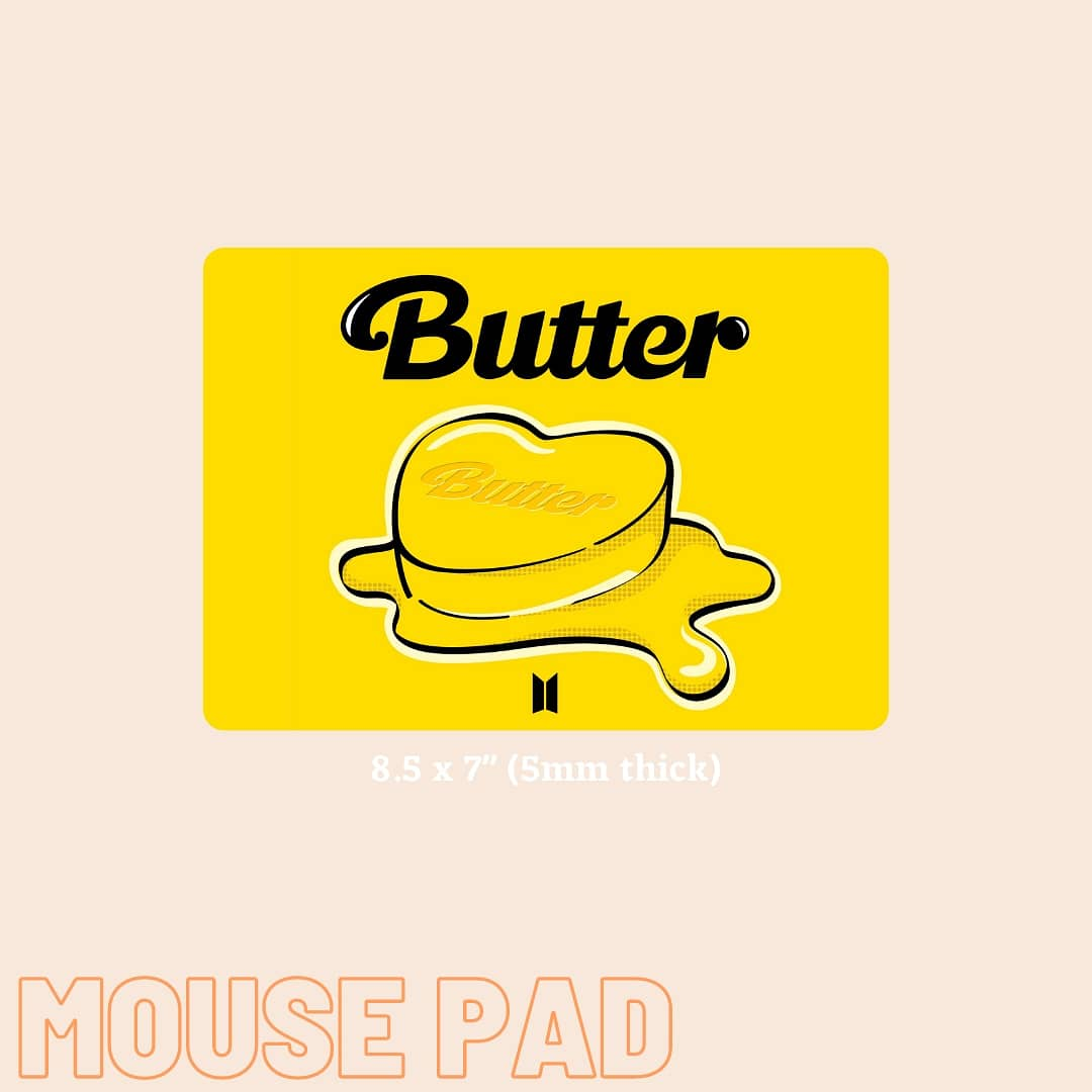 BTS Butter inspired mousepad  https://t.co/mTMbjDWWPX  #Butter9thWin #BTS #mousepad #SmallBusinesses #supportlocalbusiness #Philippines https://t.co/bbtbWNurVh