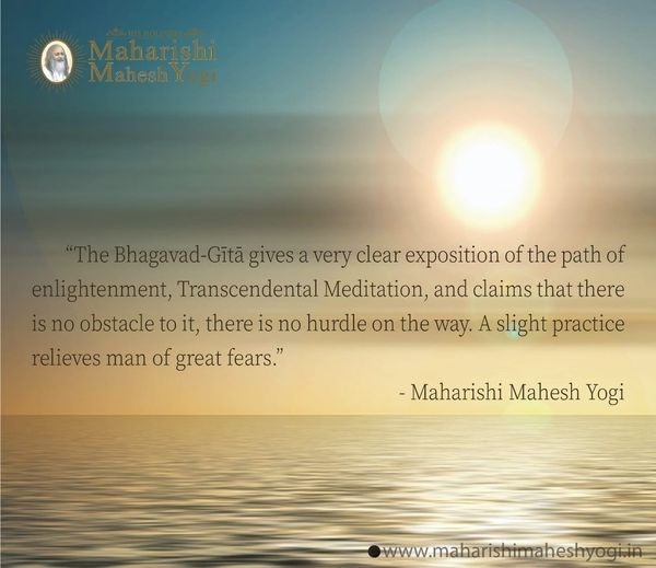 #BhagavadGita #TM #MaharishiMaheshYogi #Meditation #quote #quoteoftheday #Thursday https://t.co/RcpjKzlsWs