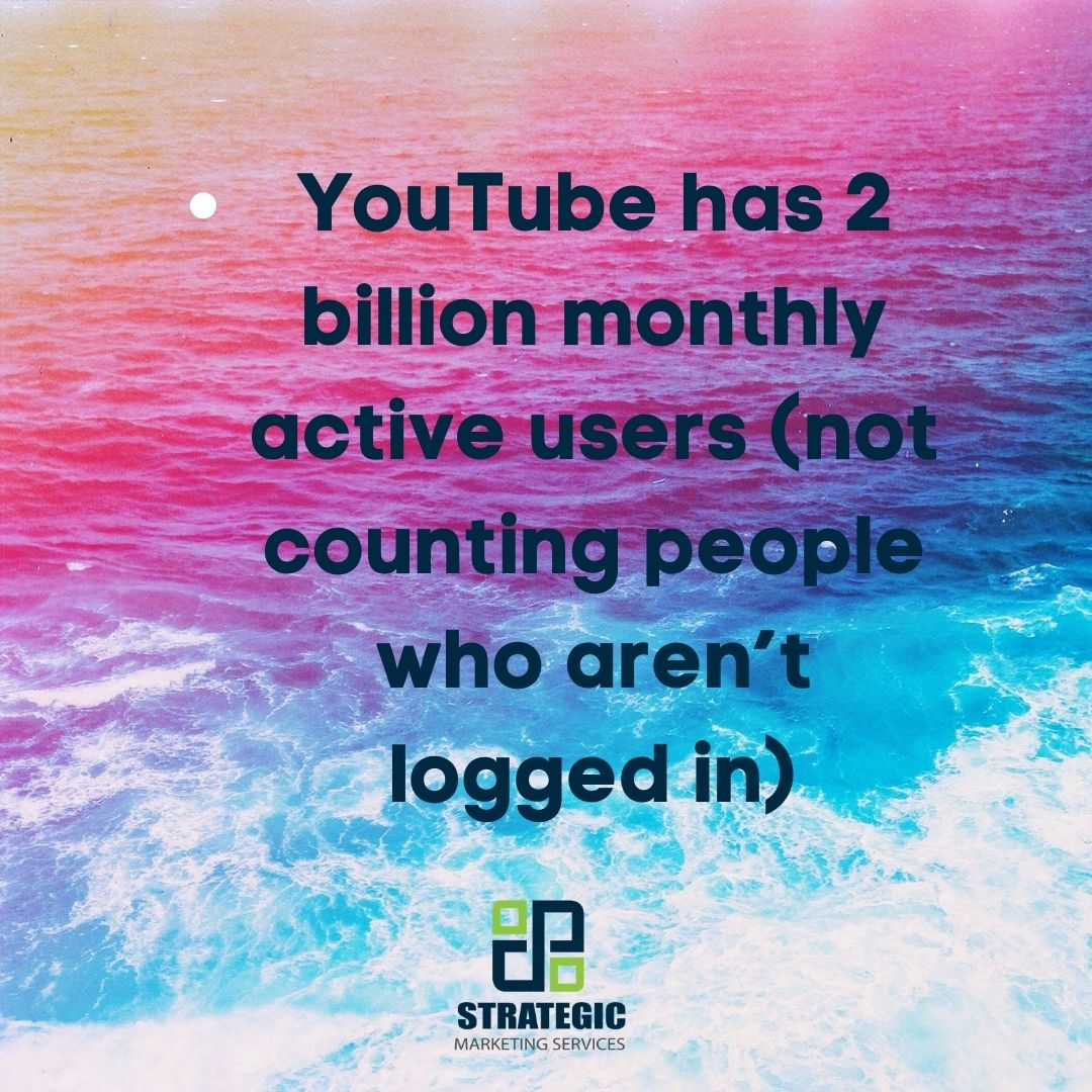 Is your small business taking advantage of this audience through video marketing? Learn how we can help! https://t.co/DMGWIHpzq6  #marketing #marketingtips #marketingideas #smallbusinessmarketing  #strategicmarketingservices #videomarketing #socialmedia #contentmarketing #videos https://t.co/GugfS0rKNJ