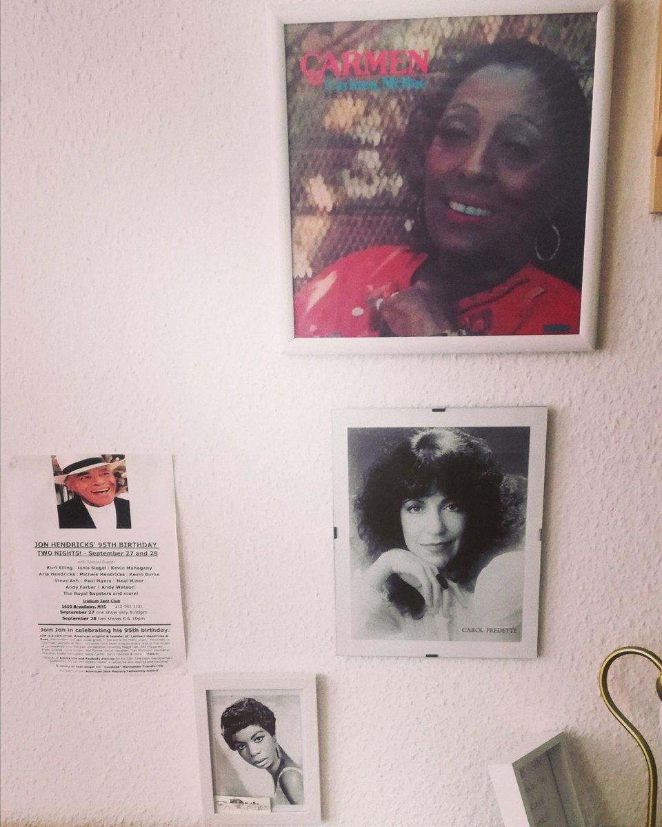 #jazz #history #heroes #vocaljazz #music #legends #carmenmcrae #carolfredette #ninasimone #jonhendricks https://t.co/vM7A70DdpC