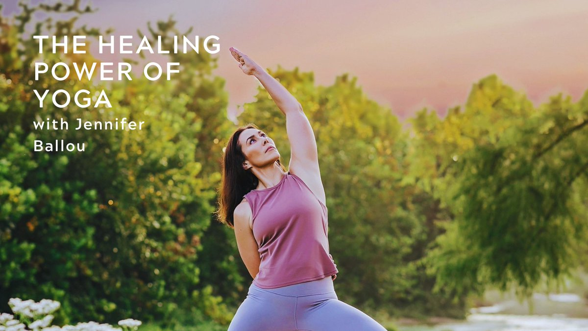Don't miss The Healing Power of #Yoga w/ @USArmy  #Veteran Jennifer Ballou on Sat., 6/26 at 11 a.m. (ET). This will be an in-person & virtual yoga session. Tickets are limited to 40 in-person guests, so reserve your space now➡️https://t.co/dEn25OYMwO #PTSDAwarenessMonth #Wellness https://t.co/GnEv1oICMw