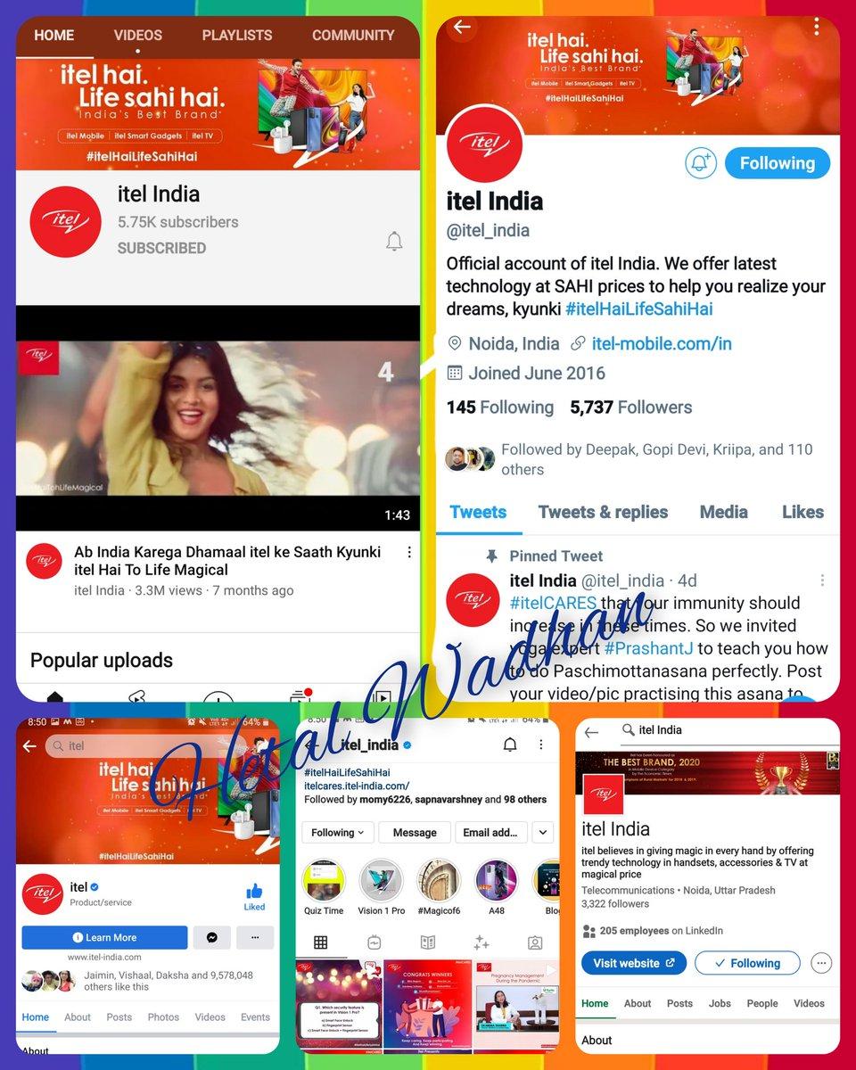 @itel_india Dear Team @itel_india  Ans 1 ❤ c) Face unlock & Fingerprint Sensor Ans 2 ❤ b) Waterdrop Display Ans 3 ❤ c) Triple Camera Ans 4 ❤ a) 8.5mm  #ContestAlert #YouTellitel #itelHaiLifeSAHIhai   TAG @WadhanN @mehra_pammi @HridyaW @skalsi394 @VadhanNaveen @WadhanHaiyu @anita_ramani https://t.co/QcGGbInlLY