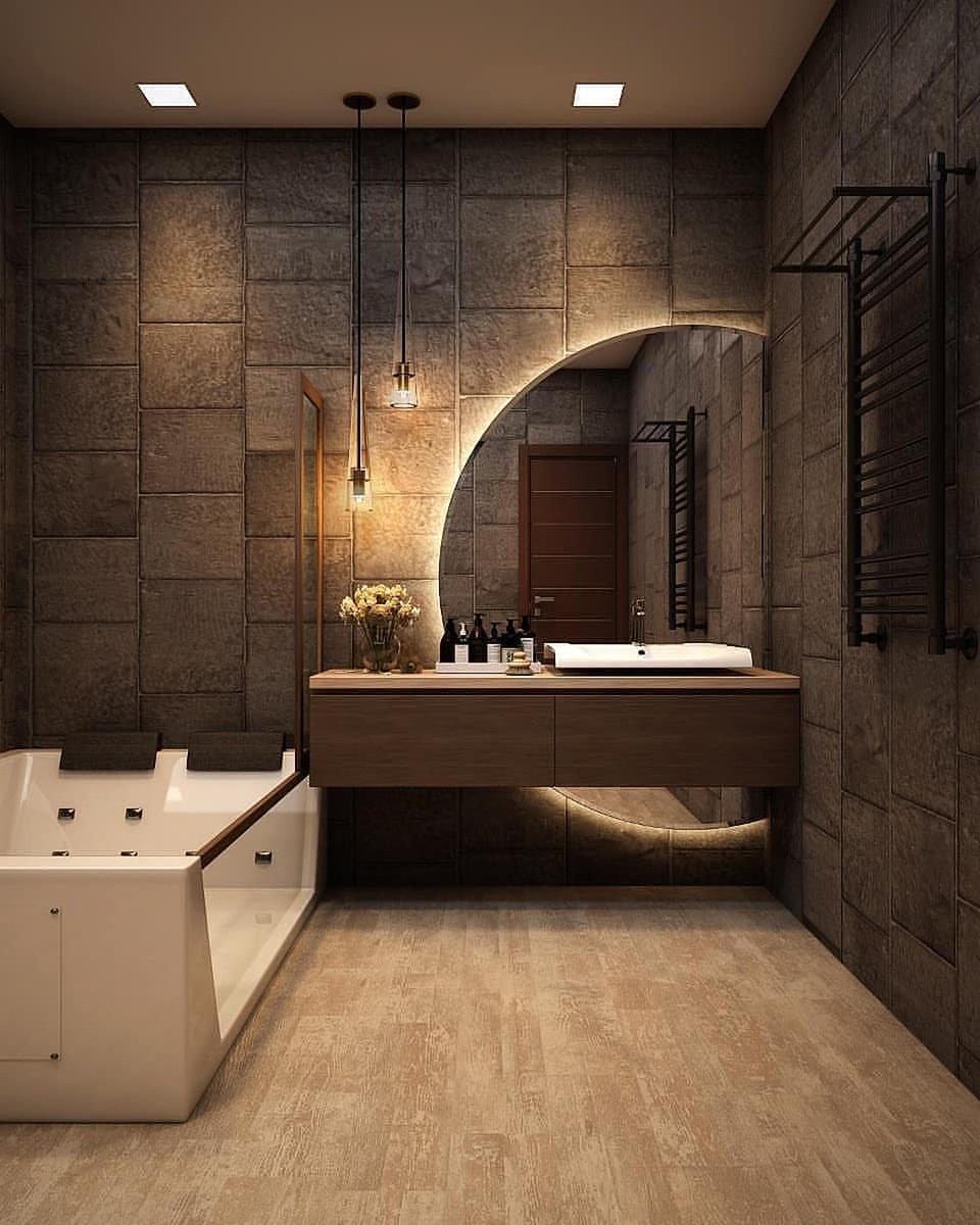 #Luxury Washroom Design - https://t.co/fyKYTN7nLa via @insprade #inspirationde #Architecture #Bathroom #House #Mirror #Residence #Sink #Tub https://t.co/JFbbZuDeLu