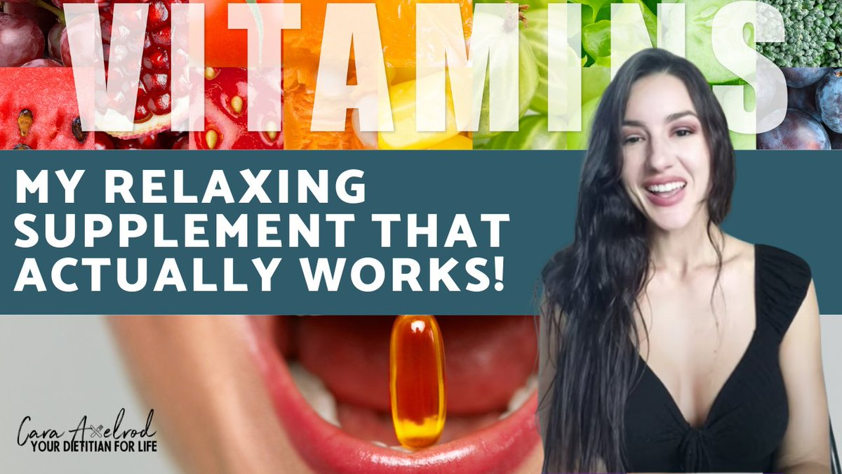 My Relaxing supplement that actually works on stress and anxiety! https://t.co/CnRqMRxBMo via @YouTube   #vitamins #health #healthylifestyle #supplements #healthy #vitaminc #nutrition #minerals #fitness #wellness #healthyfood #vitamin #healthyliving #vegan #antioxidants #energy https://t.co/MBdg9RjA51