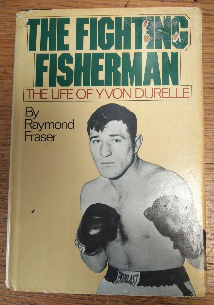 This 1981 #biography tells the story of #YvonDurelle, a #boxer from the #Miramichi. #NewBrunswick #boxing #sports #localhistory https://t.co/w3fMNQKsFJ