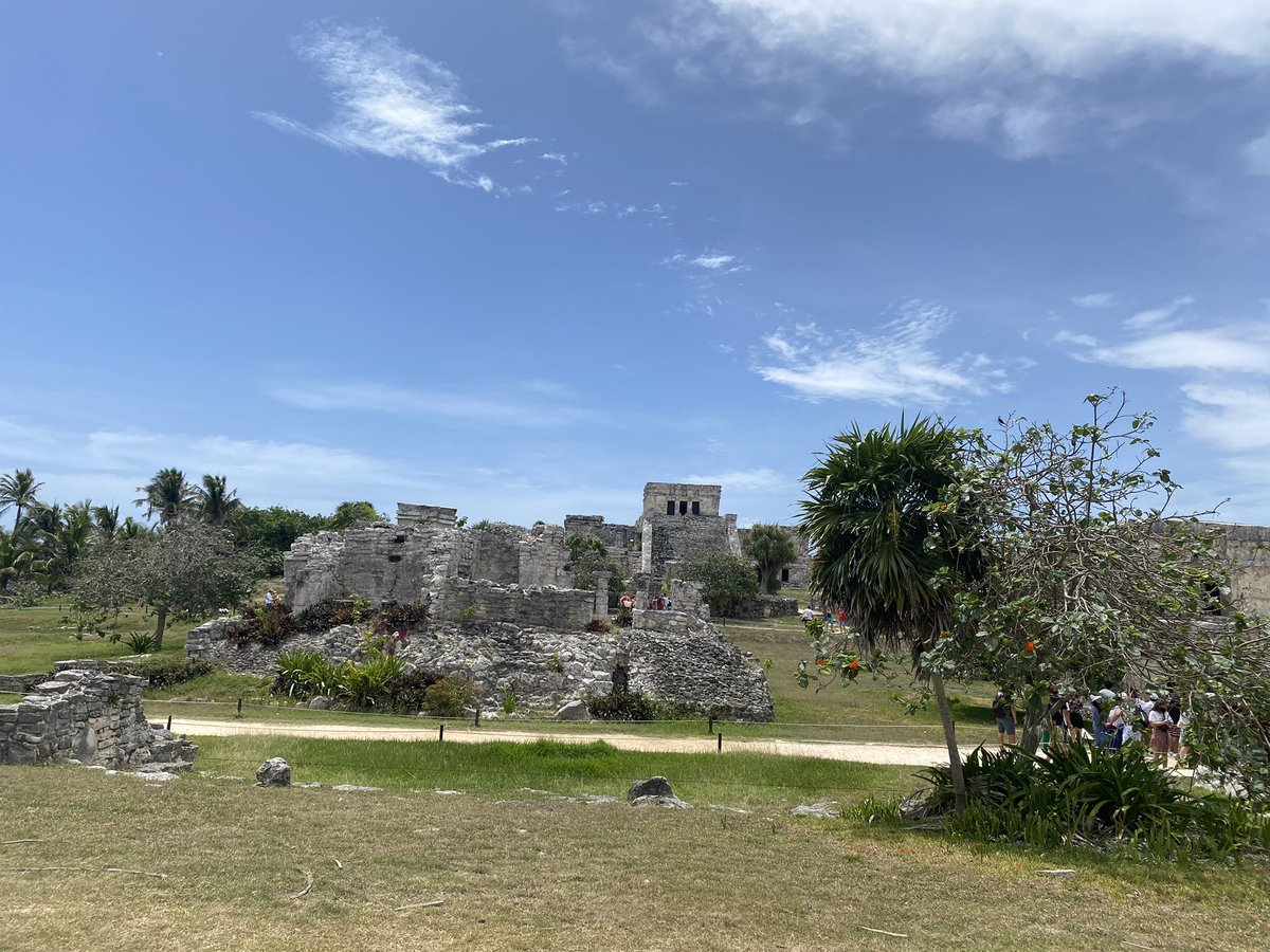 The ruins in Tulum. Crazy history and beautiful jungle location on the coast! #mayan #tulum #tulummexico #history #mexico #summervibes #summertime #explore #travel #vacation #traveltheworld #mayanruins #followus #podcast #travelpodcast #exploremore #vacations https://t.co/FwQihcQ4wz