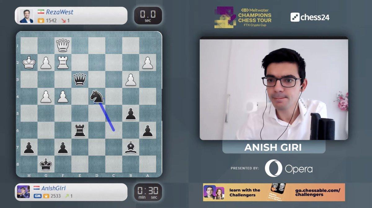 test Twitter Media - Anish Giri is LIVE now playing Banter Blitz! https://t.co/c6u4QEiKa8  #c24live #ChessChamps https://t.co/4RF18Vbtv4