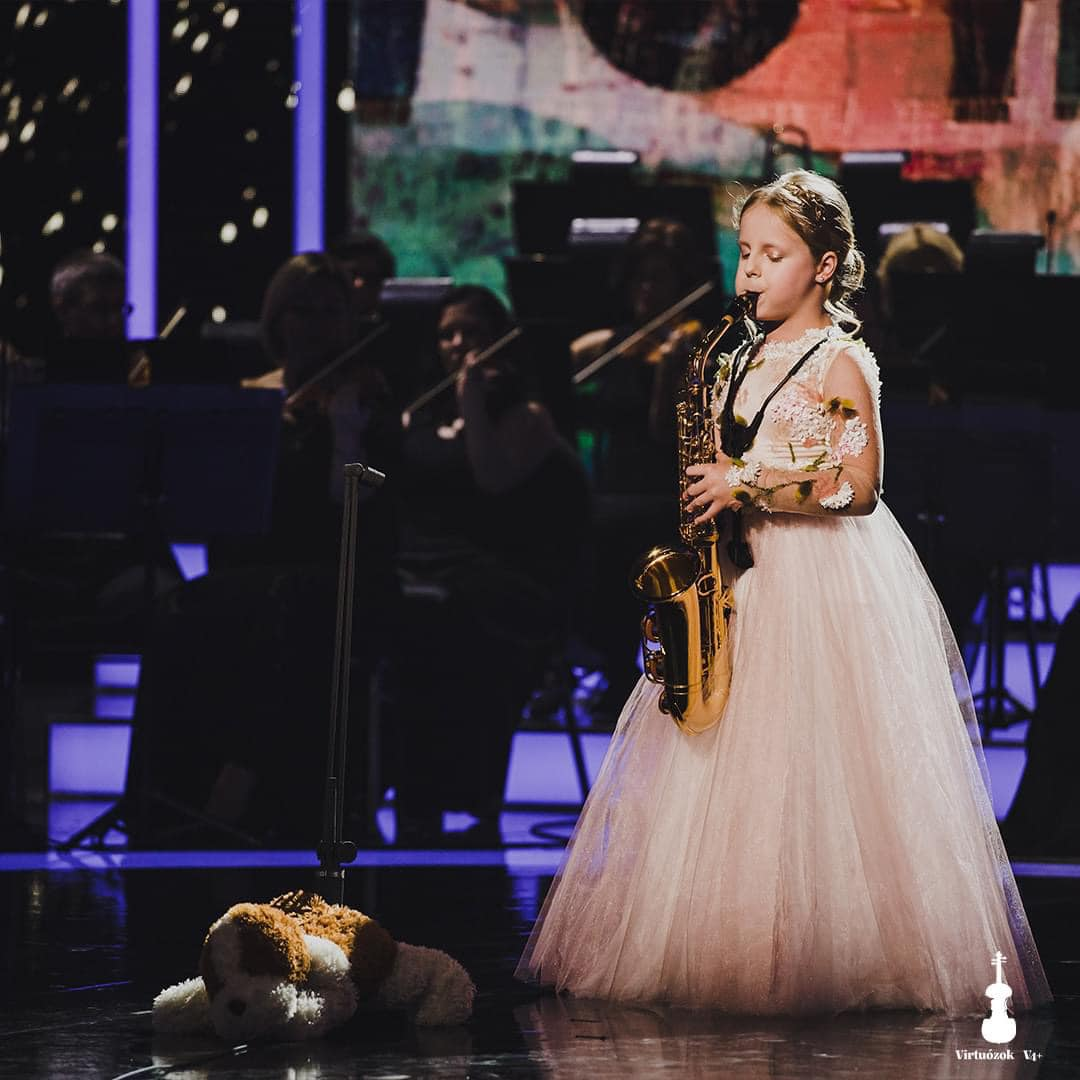 Ohrid Pearls is one of the strongest international #competitions in #Europe, with competitors from all over the world. #Finalist and special prize winner of #VirtuososV4+ 2020, #KristinaVasić from #Serbia won, with the maximum 100 points! 🎷🇷🇸🏆🥇 https://t.co/YzvZEAVKDX https://t.co/pTh6KTZeF7