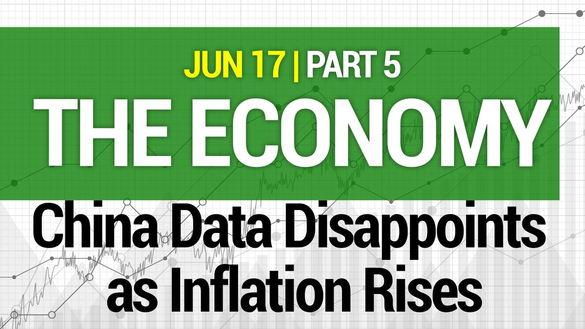 The Economy, Part 5: China Data Disappoints as Inflation Rises - with @markfny   https://t.co/09YdCbi7nG  #BigOil #BigData #PVN #OOTT #economy #wages #income #employment #unemployment #imports #exports #supply #demand #oilandgas #energy #China #Europe #USA #credit @PrimaryVision https://t.co/DzAIYteFVU