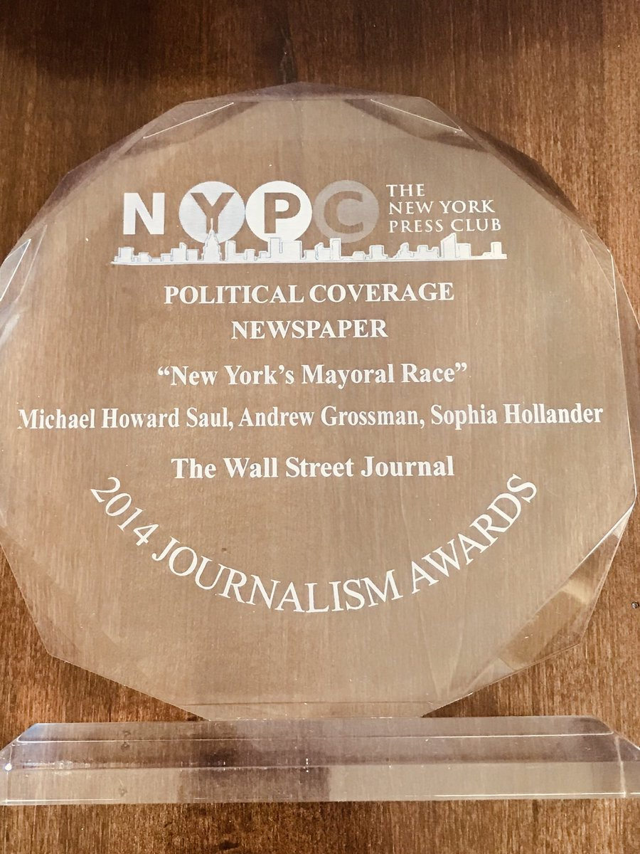 Very excited about WSJ's new initiatives. But wanted to say how sad I am about the loss of GNY. I am immensely honored to have been an inaugural staffer & wicked proud of this scrappy team that consistently punched above its weight. Big shout out to all of GNY, past and present. https://t.co/OgI08KOPhy