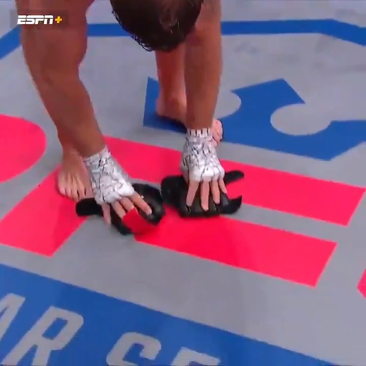 After picking up the win at #2021PFL5, @FilthyTomLawlor placed his gloves down on the canvas.  The win was Lawlor's first since July 2015. https://t.co/4H1gJHgQEV