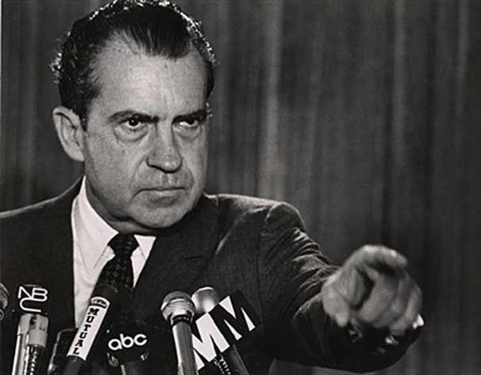 """Fifty years ago today, Nixon declared on national TV that drug addiction was """"public enemy number one"""" — kicking off America's """"war on drugs."""" https://t.co/7FsgKwQF3S"""