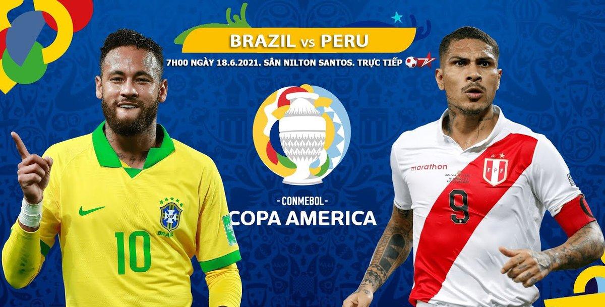 Brazil vs Peru Full Match & Highlights 18 June 2021
