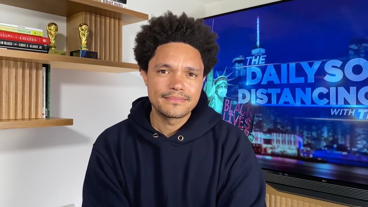 As The Daily Social Distancing Show comes to a close and Trevor takes a hiatus for the summer, here's how we're working on creating a new, in-person Daily Show experience for the post-pandemic world. https://t.co/1Cf5c7Gizs