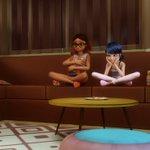 Image for the Tweet beginning: / 今夜6時30分~ 🐞 #ミラキュラス レディバグ&シャノワール🐈 シーズン2 「サポティス」 \ 自分のコピーを次々と生み出す敵に苦戦中。友達のアルヤの力を借りるため、キツネのミラキュラスを託すと「リナルージュ」が誕生し…⁉😍  お楽しみに✨ #BS11 #キッズアニメ #英語 #日本語