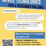 Image for the Tweet beginning: 👵👴🏻Noves tecnologies per a persones