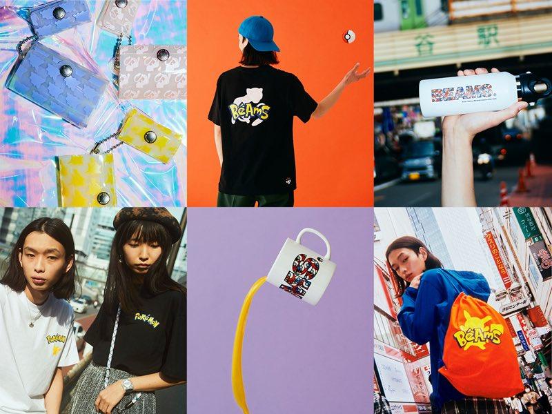 Colaboración entre el Centro Pokémon de Shibuya y la marca Beams. https://t.co/A4PeyhtdGt