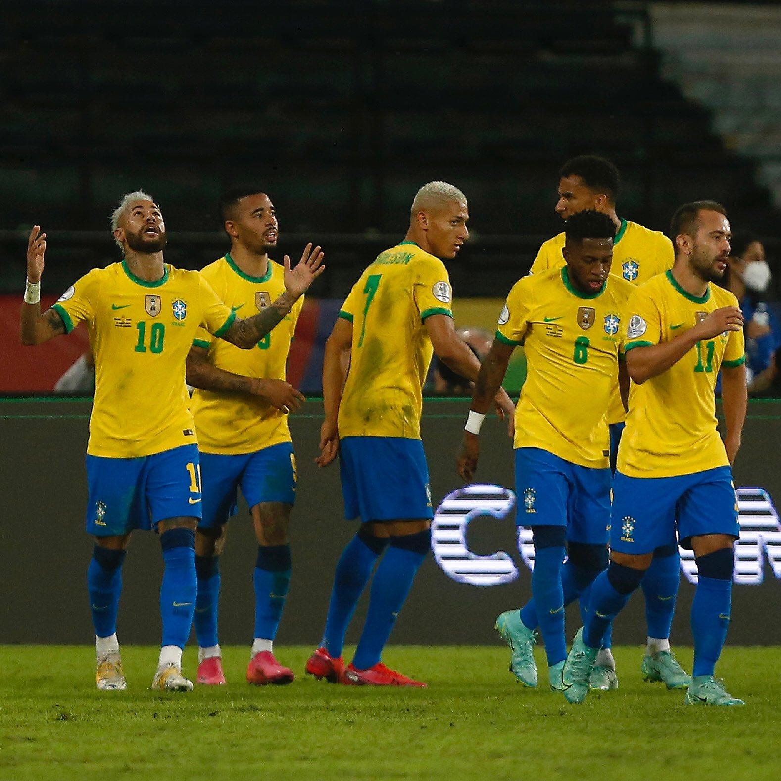 Brazil vs Ecuador: Copa America 2021 BRA v ECU Live Score & Link  watch
