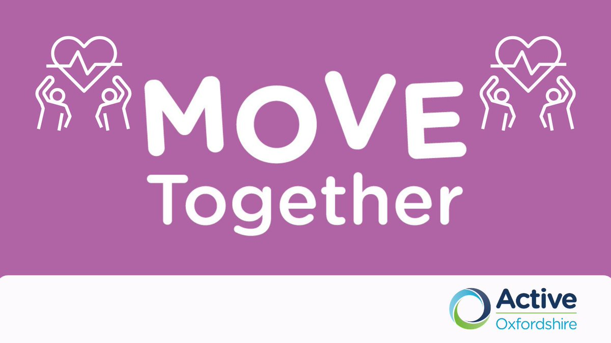 We're delighted to announce the new county-wide #MoveTogether pathway to help Oxfordshire's vulnerable residents move more with @oxfordshirecc Find out more here: https://t.co/J7LCpF8Uea #Oxfordshire