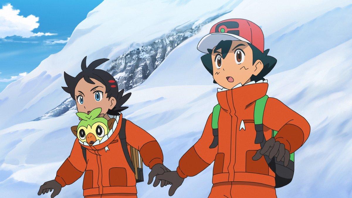 El episodio del anime de Viajes Pokémon se emite ahora en Japón.  Comienza Project Mew 🌀 https://t.co/UGCMwGhVNp