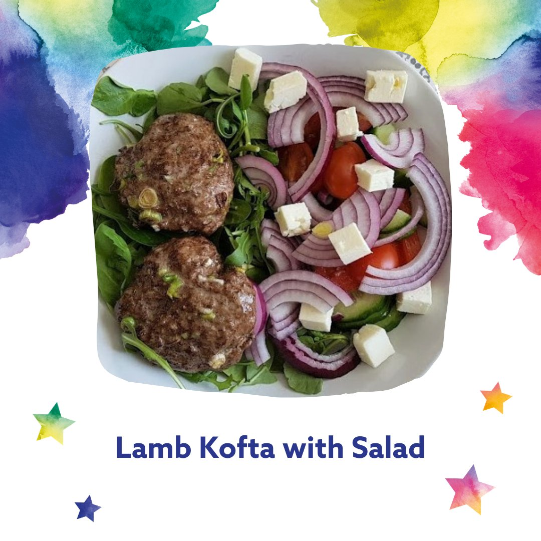 RT @MoreLifeBedsMK: This week's dish is Lamb Koftas with Salad. Made with only a few simple ingredients, lamb kofta brings a unique taste t…