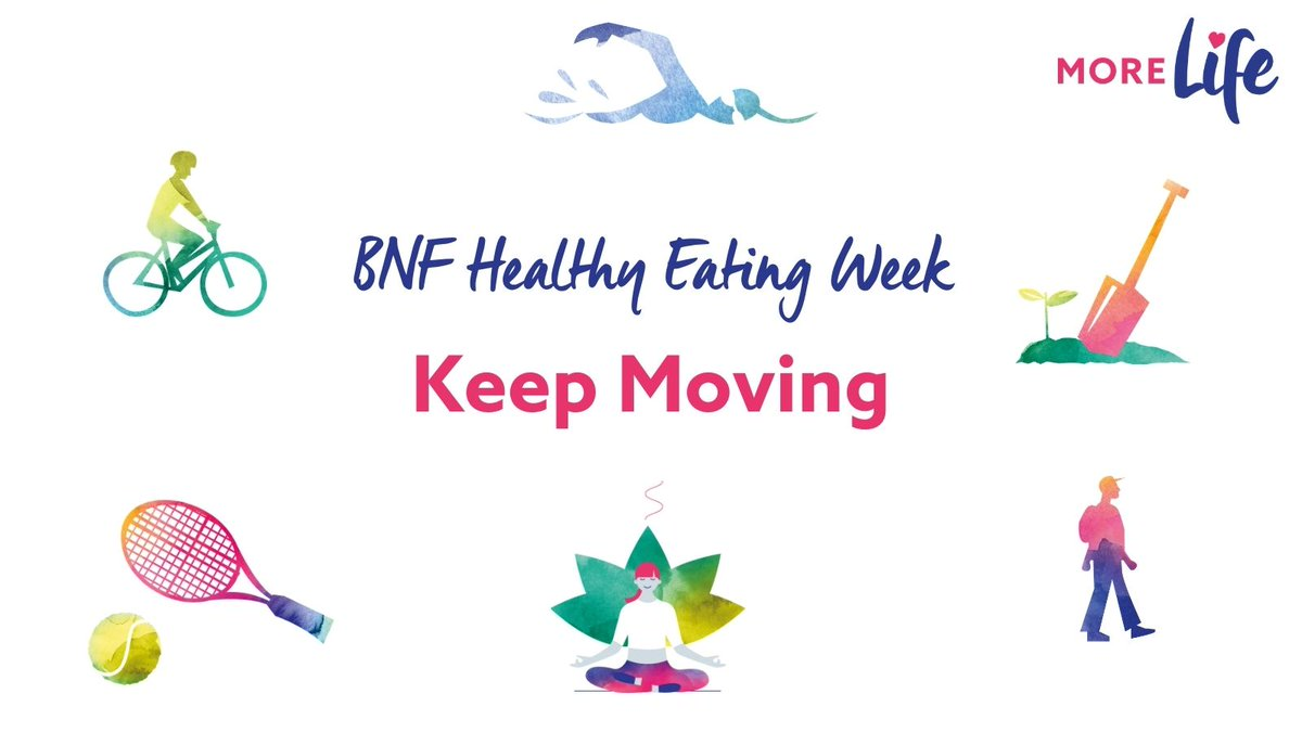 RT @MoreLifeEssex: What's your favourite way to keep moving?  It's the final day of #BNFHEW2021 and we challenge you to carry this final th…