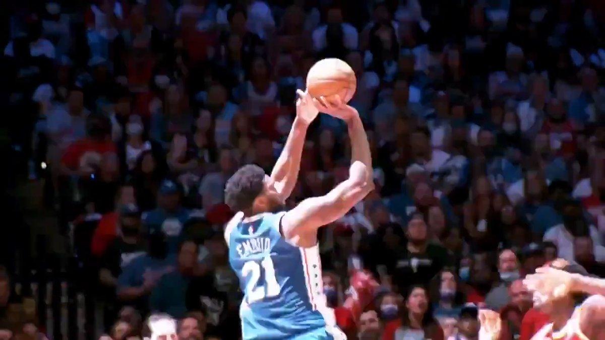EMBIID'DEN 37 SAYI   Sizce Joel Embiid'li Philadelphia 76ers, Atlanta Hawks karşısında seriyi çevirebilecek mi? 🤔 #PhantomCam  🆚 Philadelphia 76ers - Atlanta Hawks (2-3) 🕝 Bu Gece, TSİ 02.30 📺 https://t.co/cFd5C4TCLx https://t.co/6C4sl7HkT3