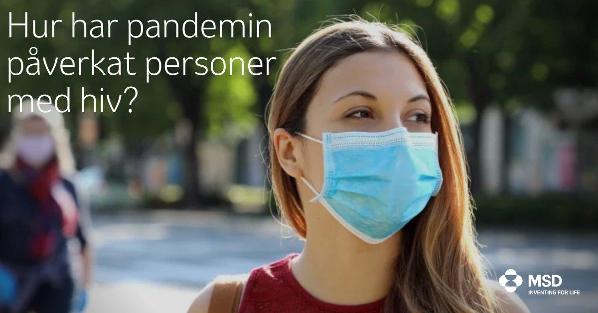 Hur påverkar pandemin personer som lever med hiv? Ny enkätundersökning visar att måendet hos många som lever med hiv försämrats betydligt under coronapandemin, jämfört med innan pandemin.   Läs mer: https://t.co/83TcY0NIW7   #hiv #covid19 https://t.co/5Tsphg63zT