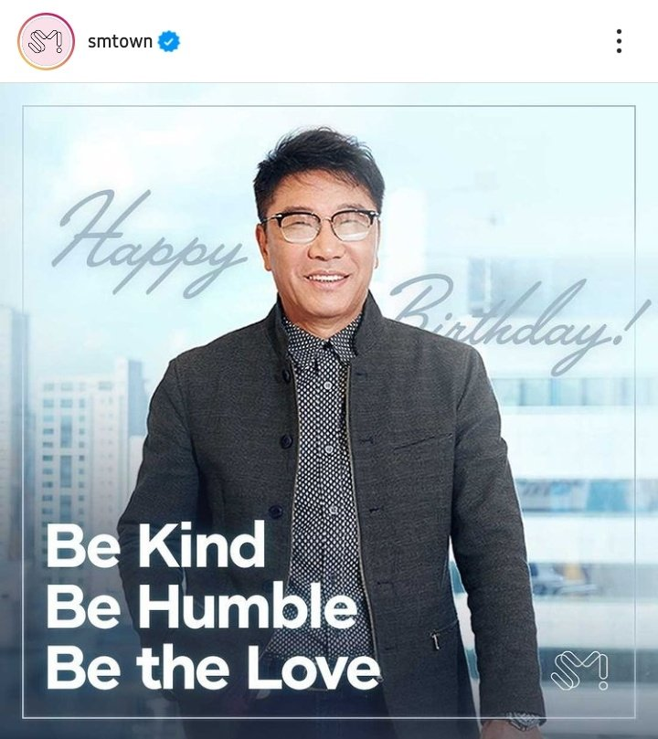 and Happy Birthday, Mr. Lee Soo-man