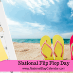 Image for the Tweet beginning: Happy National Flip Flop Day.