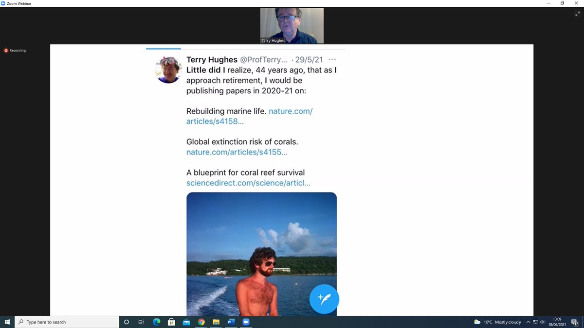 test Twitter Media - We're live! Link to attend in linked tweet Take the time this lunch to learn about coral reefs and climate change https://t.co/wllb5QRLRx
