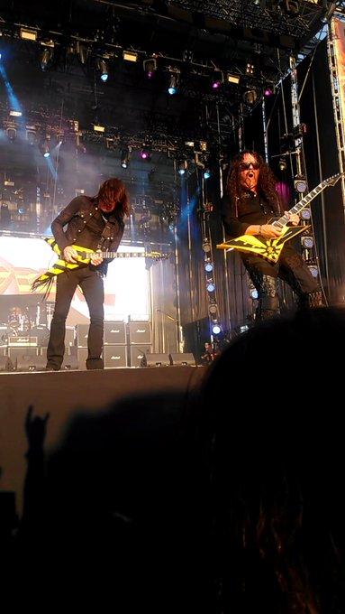 Happy birthday to Oz Fox!  Photos taken at Rock Fest Barcelona \18.