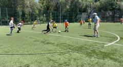 Лето с футбольным мячом