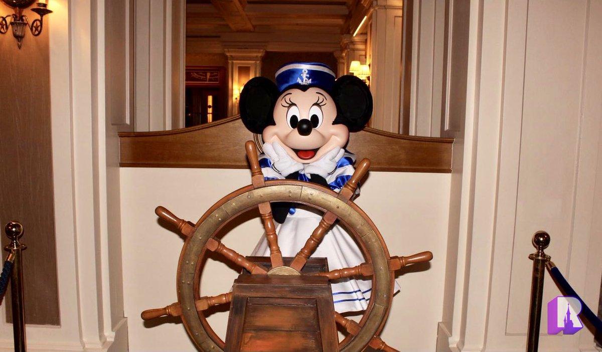 📍Captain Minnie, tonight at Disney's Newport Bay Club ! ⚓️ https://t.co/4mhQT94aHk