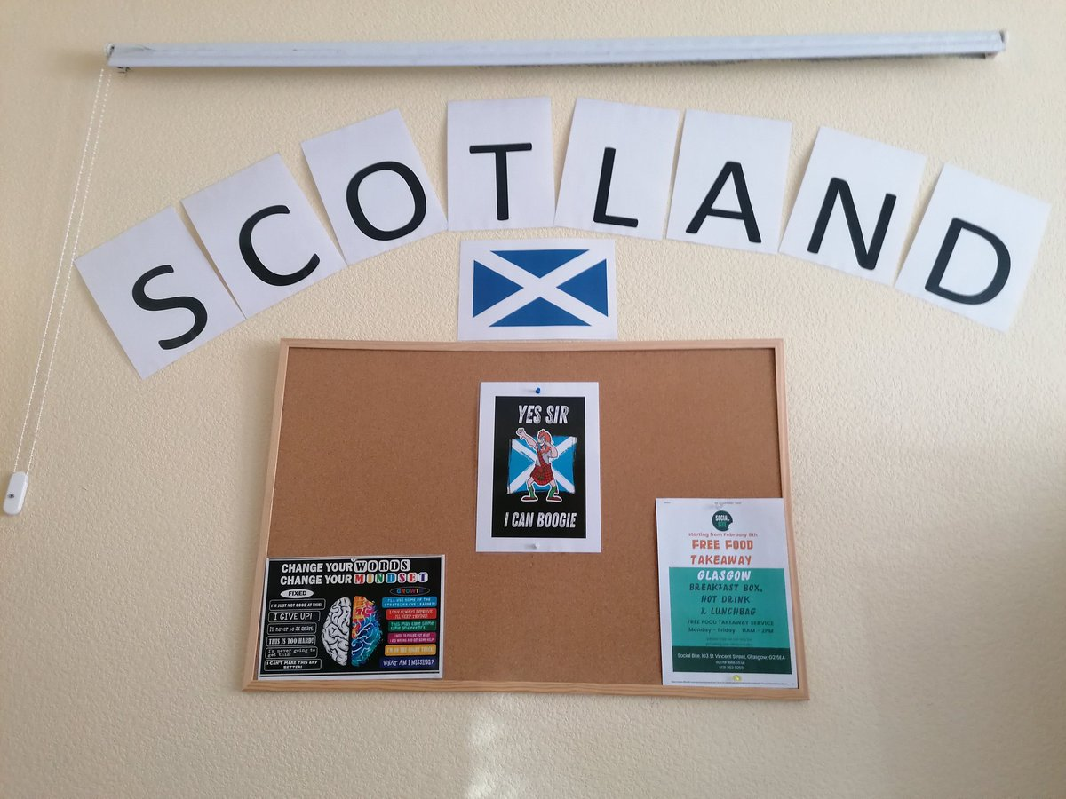 Image for QMD cheering Scotland on