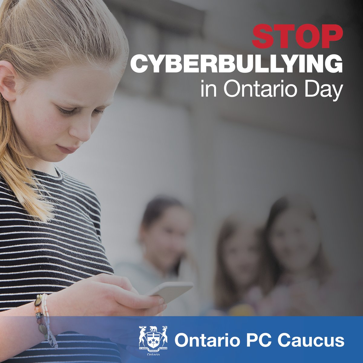 On Stop Cyberbullying in Ontario Day, we can do our part to educate ourselves and our loved ones on how to identify and prevent cyberbullying. Learn more: https://t.co/Dd1DRFPlPp #StopCyberbullyingDayON https://t.co/SkhoHqstHq
