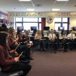 Image for the Tweet beginning: Year 7 joined in the
