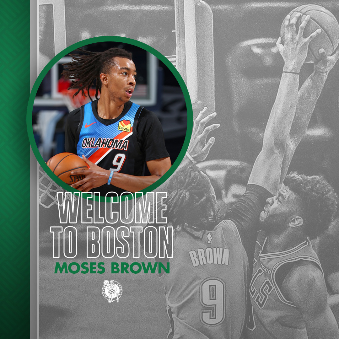 Welcome to Boston, Moses ☘️🙌 https://t.co/cGYl5plxB8