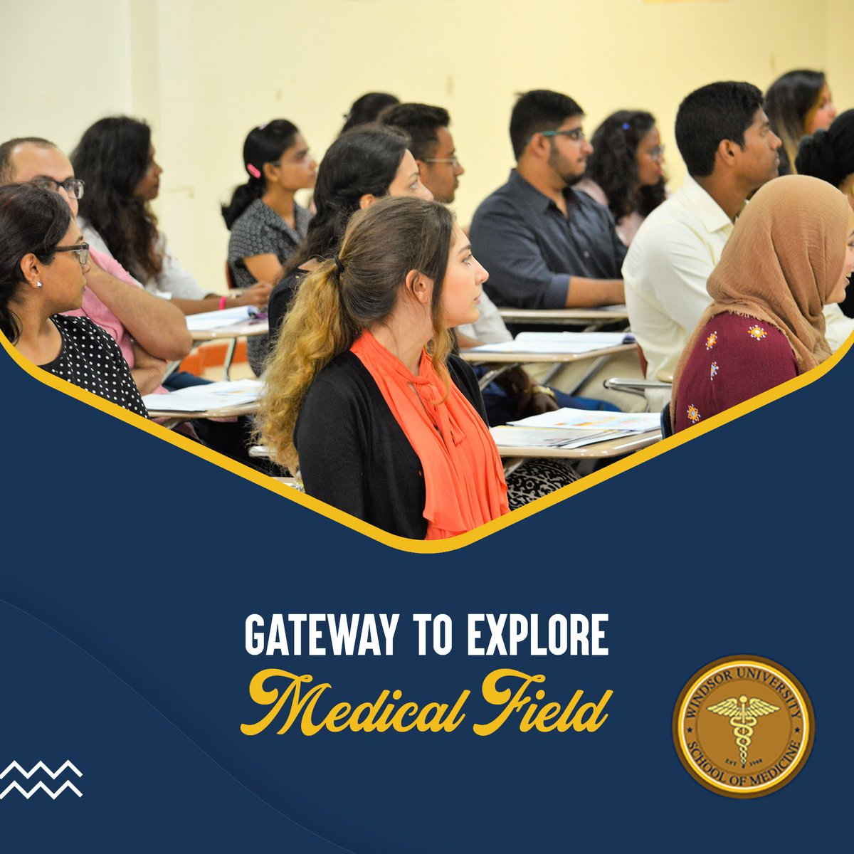 WUSOM have designed the medical course outline perfectly that can give you the reflection of all aspects regarding history, examination and current updates.  For more information, click this link: https://t.co/5RDB30ltpr  #medicalfield #exploremedicine #studymedicine #WUSOM https://t.co/HBsNvhxBLA