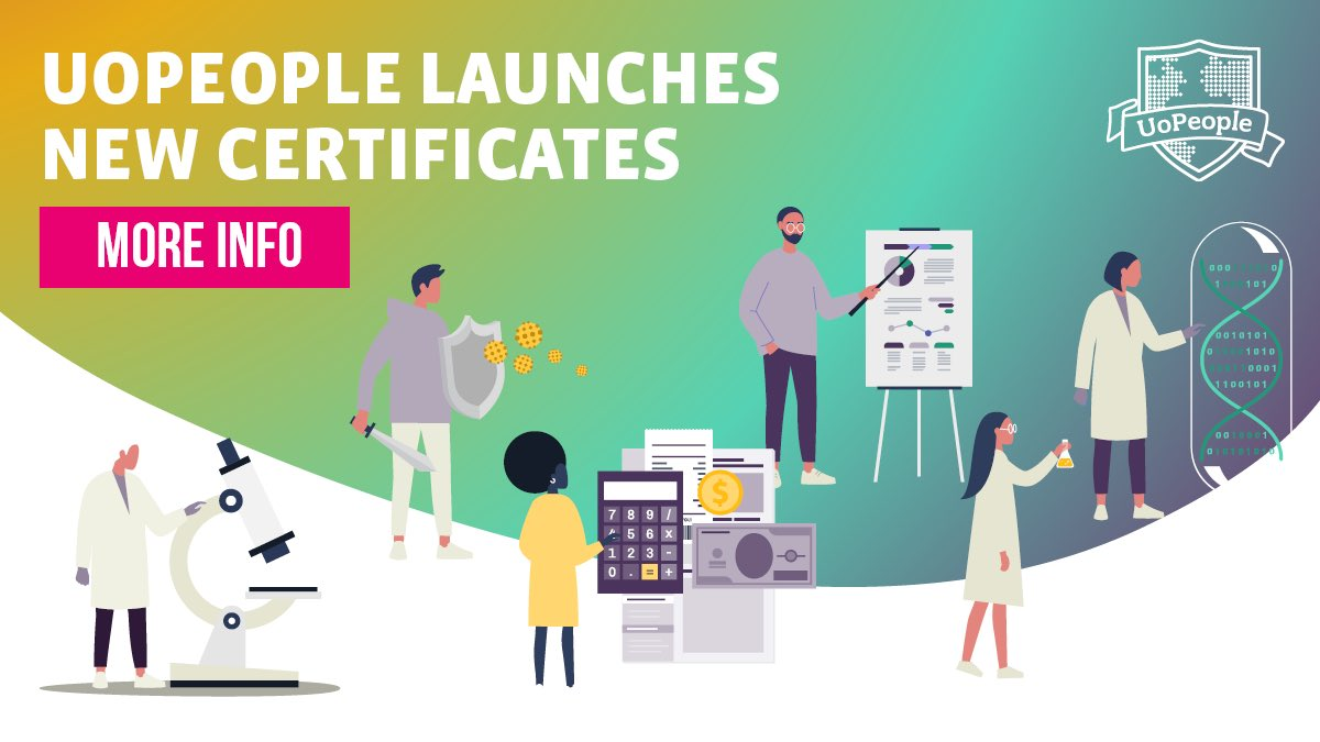 Big news! #UoPeople has 9 new accredited Health Science and Business Administration Certificates to help you advance your career. Want to learn more? Click here:  https://t.co/VKNoEHSbiD https://t.co/9iekZ9gj9P
