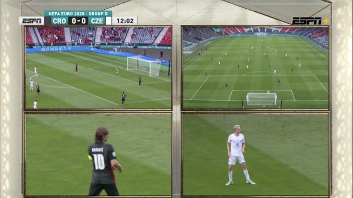 What a cruel screen to watch by #ESPNPlus #EURO2020 https://t.co/LJFg0bz0XW