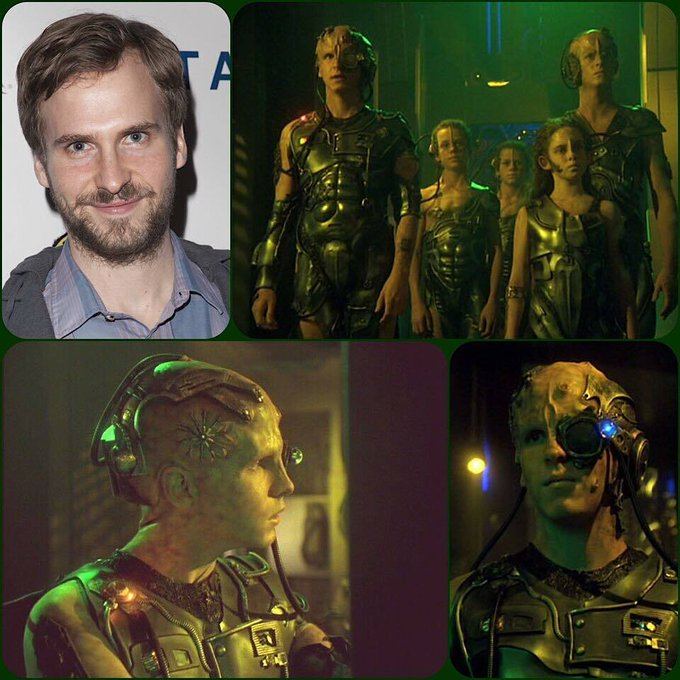 Happy Birthday Ryan Spahn, who played young Borg drone First in StarTrek: & more!