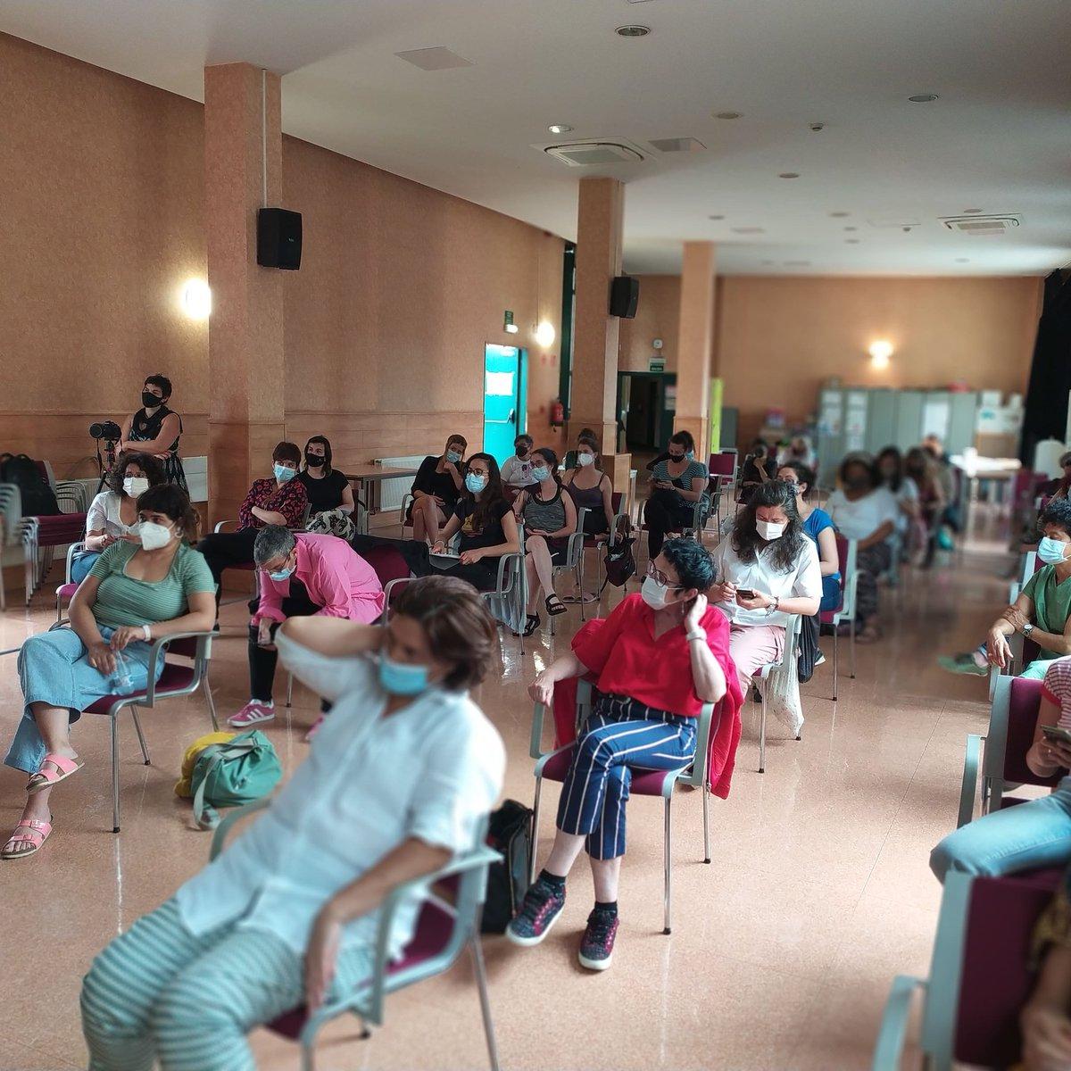 📣 Anotad esta fecha, 18 de Junio de 2021. Hoy se ha constituido la Asociación #Koloretxe 🙂 Otro paso más en la lucha para conseguir una Casa de las Mujeres en los barrios altos de #Bilbao  ¿Quieres hacerte socia?  https://t.co/zJBLTfqPLD Koloretxe, Gure Etxe 🏠